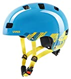 Uvex Kinder Kid 3 Fahrradhelm, blau (Blackout Blue), 51-55 cm