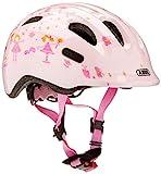 Abus Mädchen Smiley 2.0 Fahrradhelm Rose Princess 45-50 cm