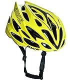 AWE AWESpeedTM in-Mould Helm Erwachsene Männer Straßen-Radsport 58-61cm Neongrün