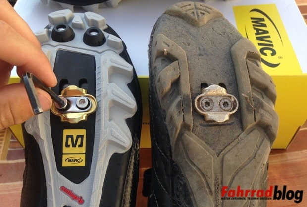 Mavic Rush Cleats montieren