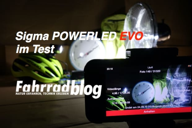 Sigma POWERLED EVO Test