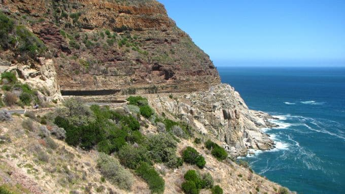 Cape Town Cycle Tour - Teil der Strecke