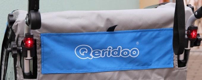 Zwei Rücklichter am Qeridoo Sportrex2