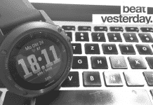 Garmin BeatYesterday Challenge