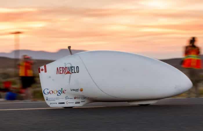Eta - Speedbike von AeroVelo