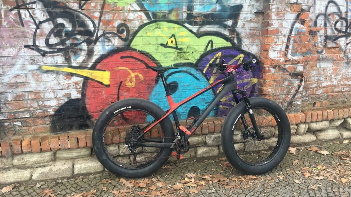Fatbike Slicks - Vee Tire Fattyslicks im Test