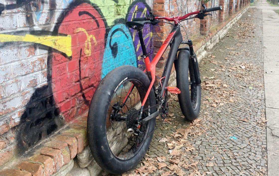 Fatbike Canyon Dude CF 9.0 Tuning