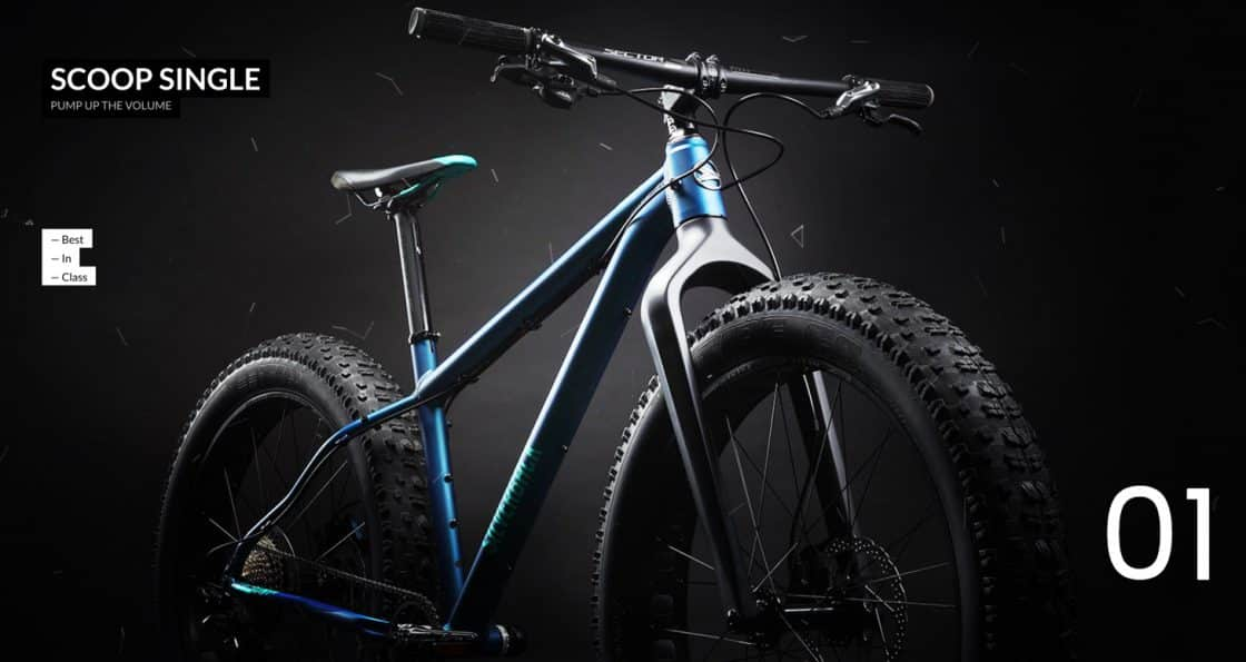 Silverback Scoop Single Fatbike