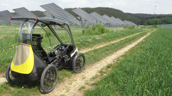 Pedilio Solar Velomobil