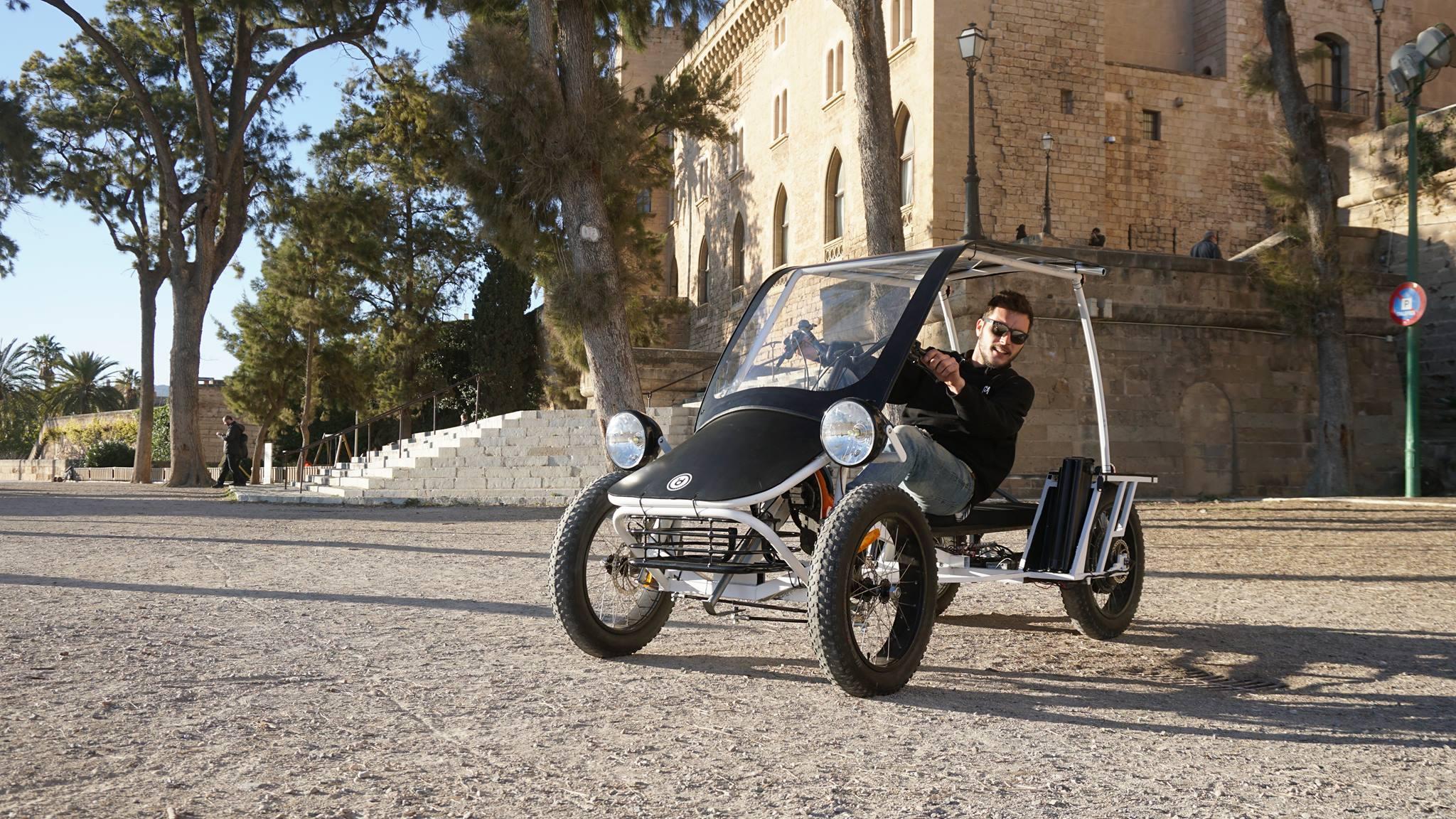 duo moke das e bike als kleines auto fahrrad blog. Black Bedroom Furniture Sets. Home Design Ideas